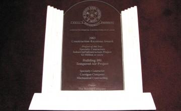 Corrigan-KeyStone_Award2003